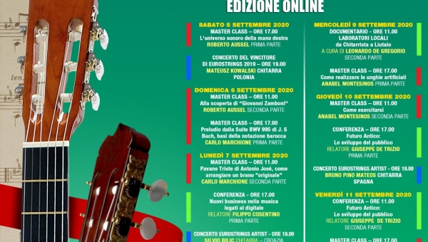 28th Edition - poster and concerts program - 2020 - Online Edition